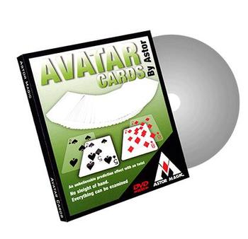 Avatar Cards (Gimmicks and Online Instructions) by Astor,Close up Magic Tricks,Card,Magia Toys,Illusions,Magician Props,Mind image