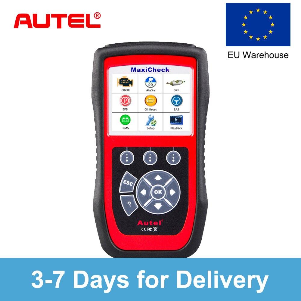Autel MaxiCheck Pro автомобиля диагностический инструмент OBD2 сканер считыватель кодеров EPB антиблокировочная система тормозов система пассивной б...