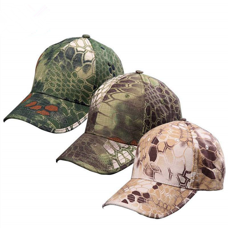 Military Hat Typhon colors Tactical Hunting Cap Outdoor Sports Hat Kryptek Camouflage Multiple Camouflage Baseball US Army Cap