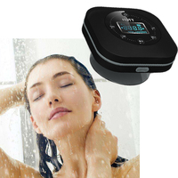 Mini Portable Wireless Bluetooth Speaker 3W FM Radio Bathroom Hands Free High Definition Speaker Microphone Waterproof Subwoof