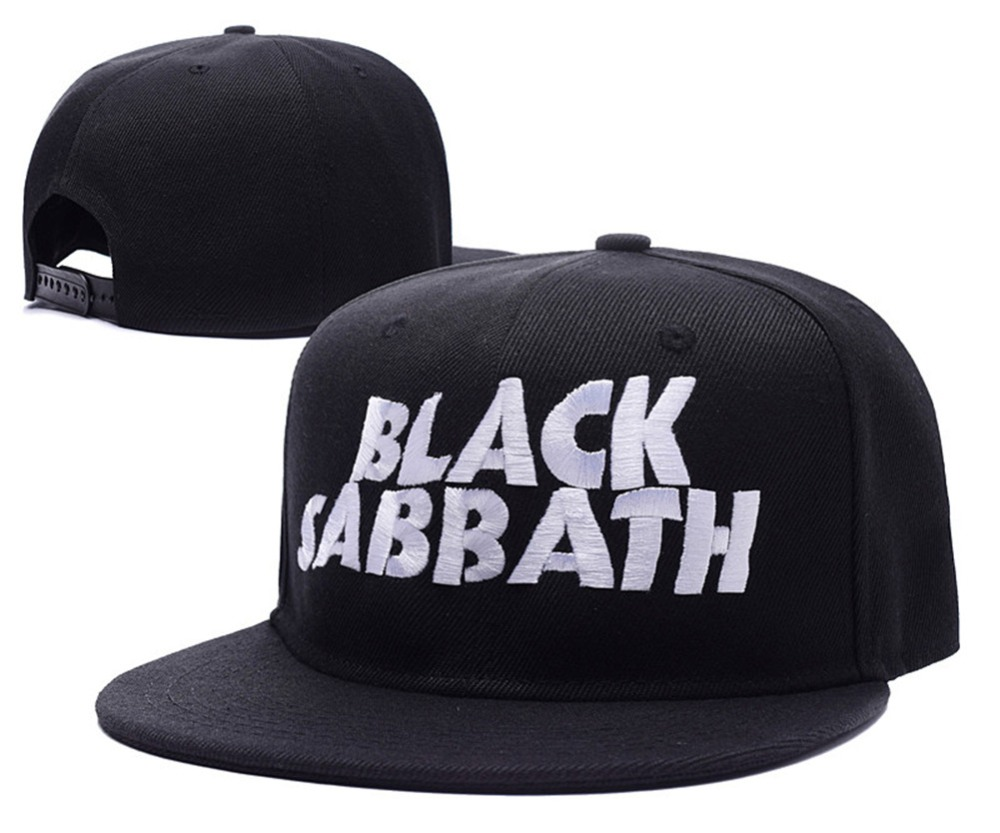 Black Sabbath Butler Ozzy Band Logo Titan Grand Theft Oscar Adjustable  Snapback Caps Embroidery Hats-in Baseball Caps from Apparel Accessories on  ... 13670fa7f50