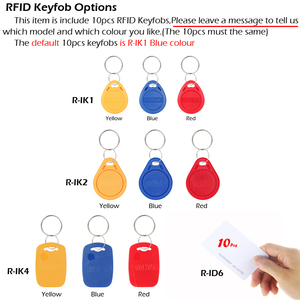 Image 5 - RAYKUBE RFID Access Control System Kit Set Mit Elektronische Schloss Passwort Tastatur & RFID Reader DIY Kit Für Tür Sicherheit