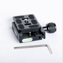 QR60 PU-60 PU60 DSLR камера штатив быстросъемная пластина и Зажим адаптер для DSLR монопод камера шаровая Головка Arca-Swiss