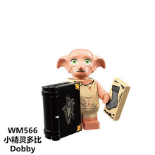 Legoing Harry Potter Dobby Moody Dumbledore Quirrell Filch Voldemort Dean Thomas Building Blocks Gift Toys(China)