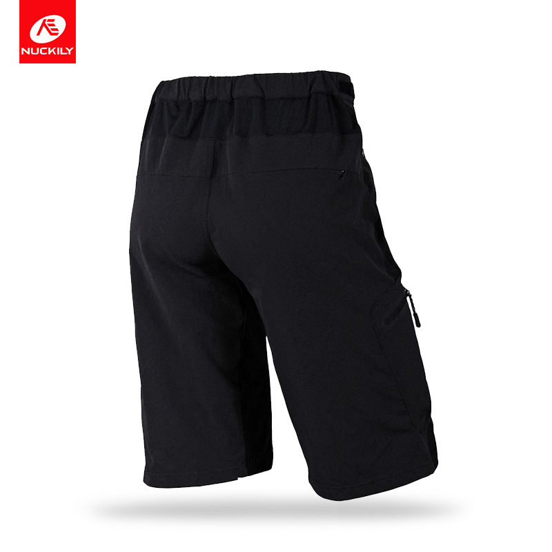 NUCKILY Summer Cycling Shorts With Cargo Bermuda Design Dtrech Bicycle Wear For Men NS357