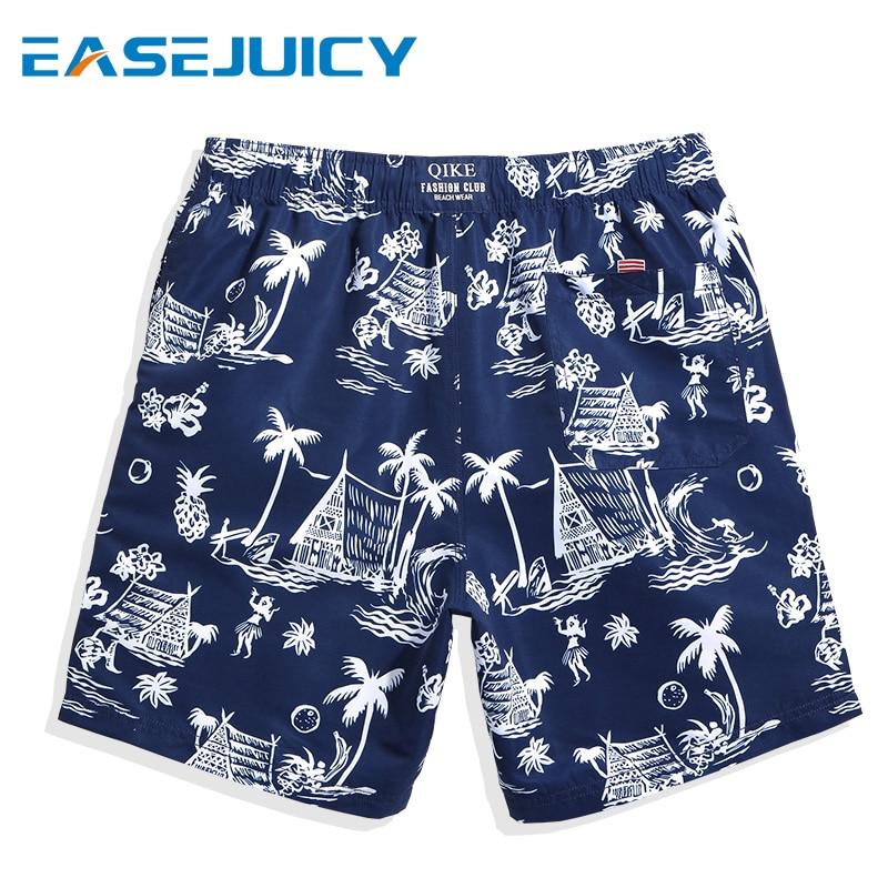 Men's swimming suit board shorts swimsuit liner hawaiian bermudas joggers printed beach shorts swimwear plavky mesh