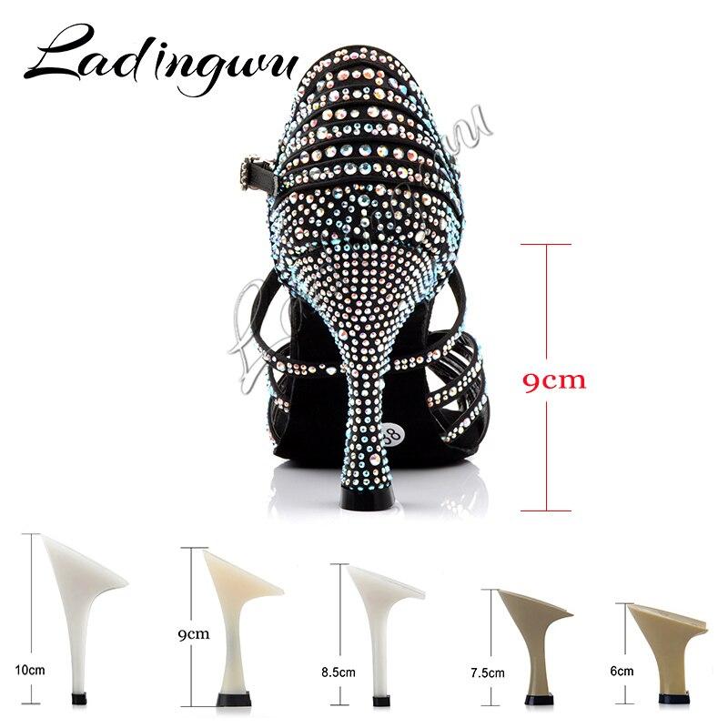 Mujer Nuevos Comprar Baile Para Satén Ladingwu De Zapatos Latino R4AL35jq
