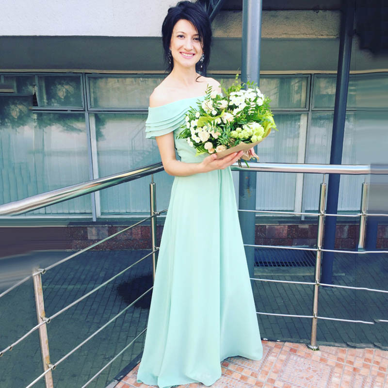 mint gown length graduation