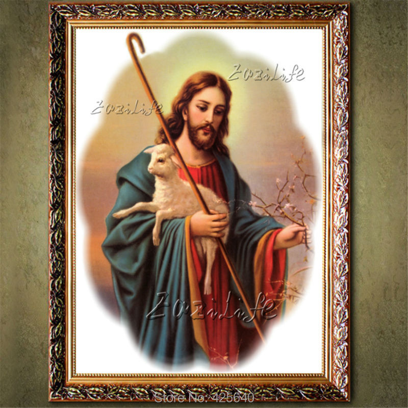 Decoración para el hogar Jesus Christ pintura al retrato de Jesús ...