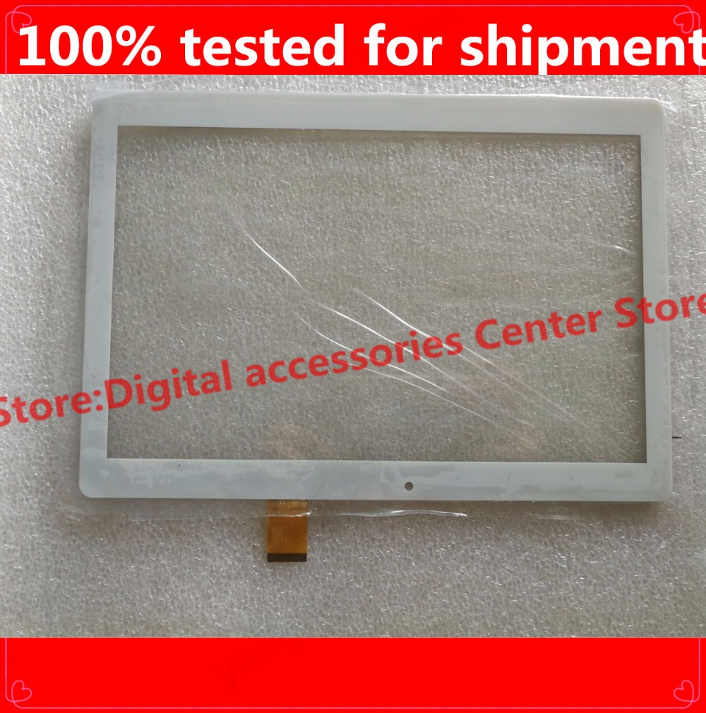 HZ 10.1 touch screen digitizer touch panel glass sensor for 10.1'' inch <font><b>Digma</b></font> Plane <font><b>1550S</b></font> 3G PS1163MG Tablet Free Shipping image