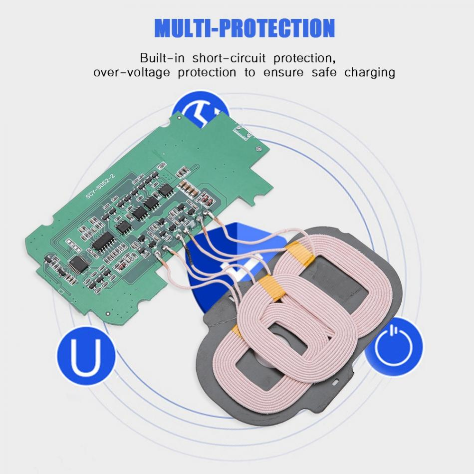Detail Feedback Questions About 5w Diy Qi Wireless Charging Module 3 Aliexpresscom Buy Charger Circuit Board Pcba With 1 Transmitter
