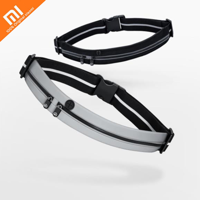 xiaomi mijia sports invisible pockets double mouth chain 3M night line reflective multifunction mobile phone bag outdoor sports