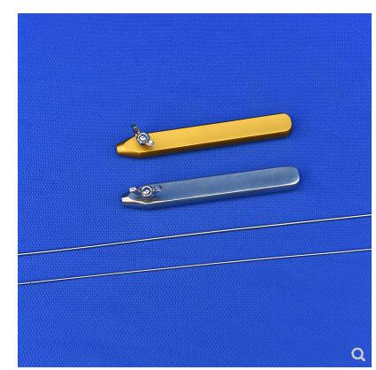 2pcs/set Detachable Stainless Puncture Guide Needle Steel 15cm Cosmetic And Puncture Needle Plastic Surgery Instruments