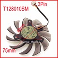EVERFLOW T128010SM 75mm 3Pin 40x40x40mm VGA Video Card Fan For GTX580 GTX670 560TI Cooling Fan