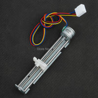 2pcs Dc 4 9v 500mA 2 Phase 4 Wire Drive Stepper Motor Screw with Nut Slider Step Angle 18 degree