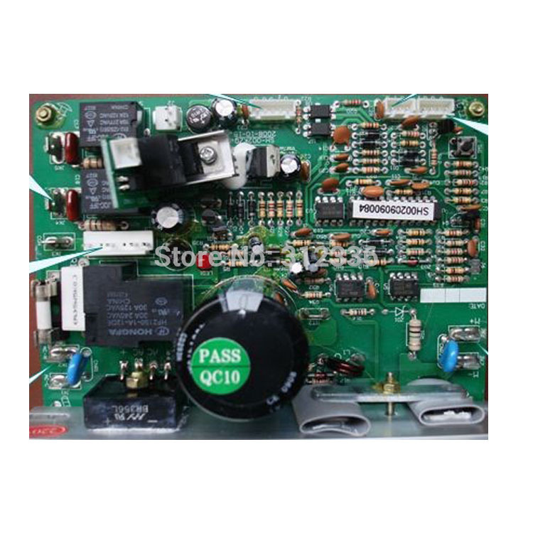 Free Shipping Motor controller treadmill SH-5176 motherboard control circuit board computer under control board SHUA accessories fast shipping dc motor for treadmill model a17280m046 p n 243340 pn f 215392