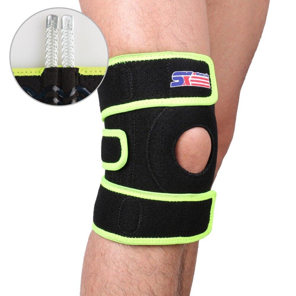 Free shipping adjustable sports leg knee support brace