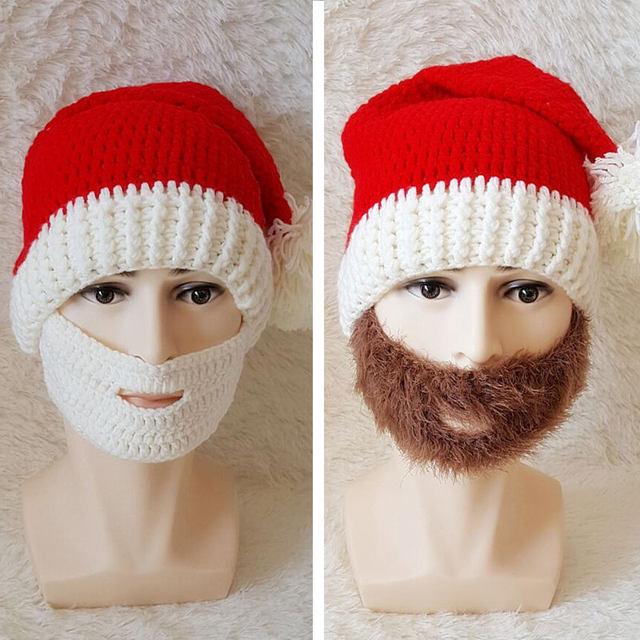 Tienda Online Maxmessy Navidad nuevos Hombres Calientes punto Beanie ...