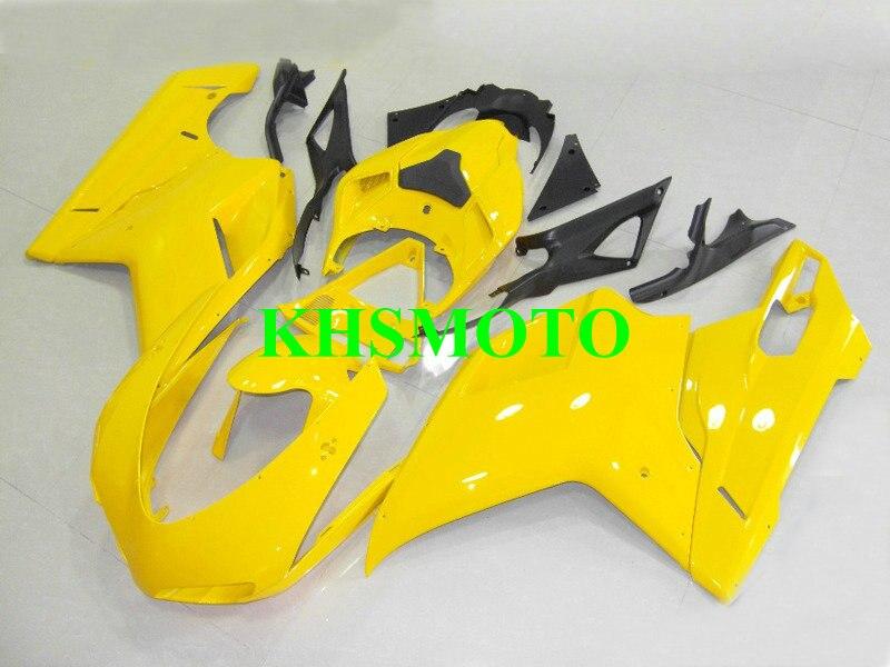 Hi Grade Motorcycle Fairing Kit for DUCATI 848 1098 1198 08 09 10 11 12 Ducati