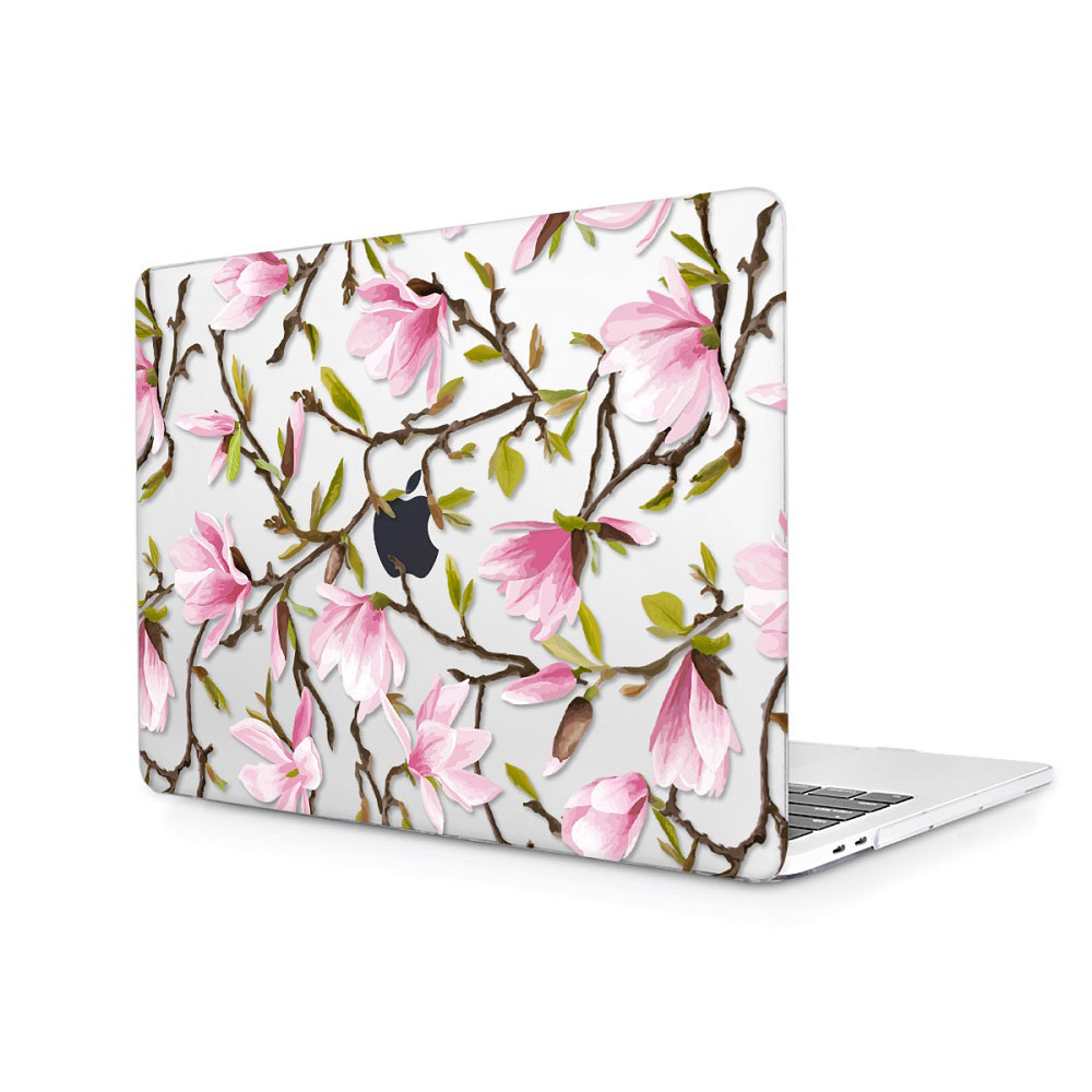 Floral Printing Hard Case for MacBook 129