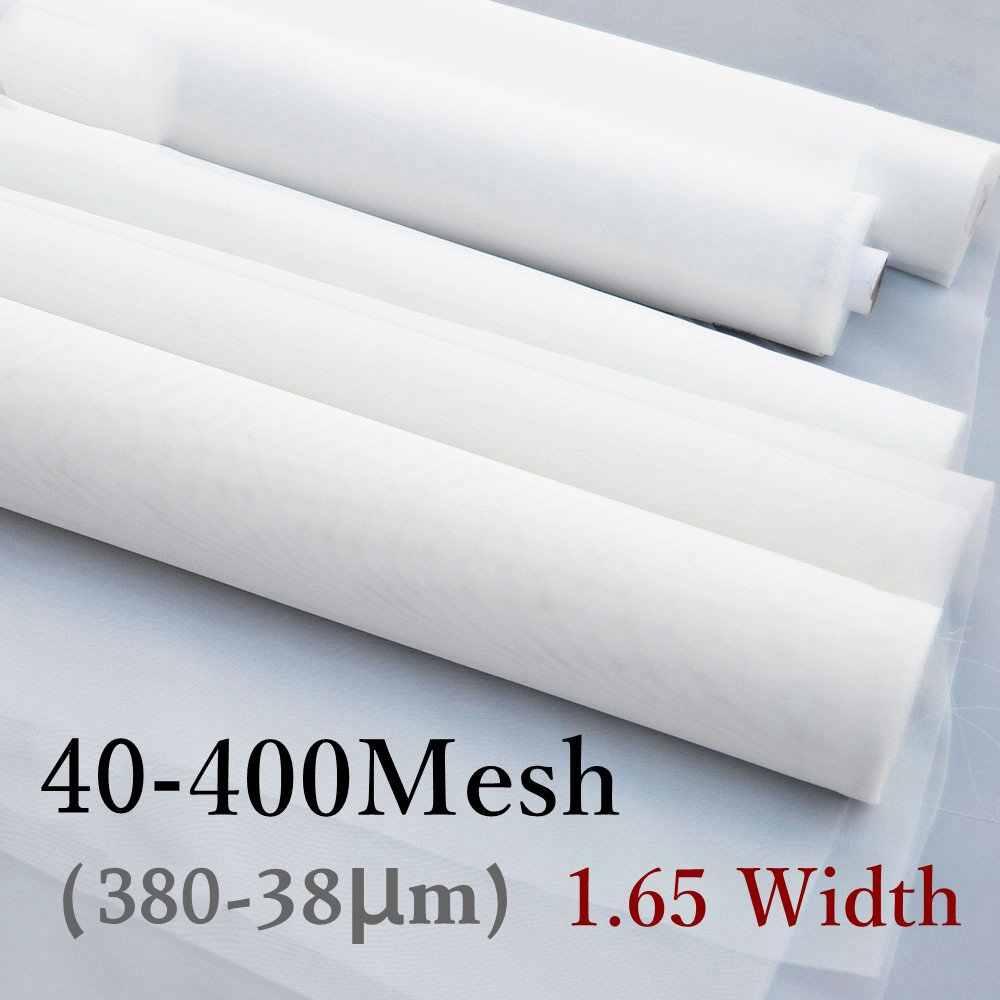 40-400 Mesh Food Grade Mesh Nylon Filter Stoff Tuch Genau Wein Bier Brauen Lebensmittel Filter Net Tee Sieb küche Diy Tools