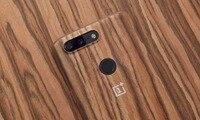 Original OnePlus 5T Full Coverage Case Aramid Fiber Wooden Case 100 Original Full Protection Full One