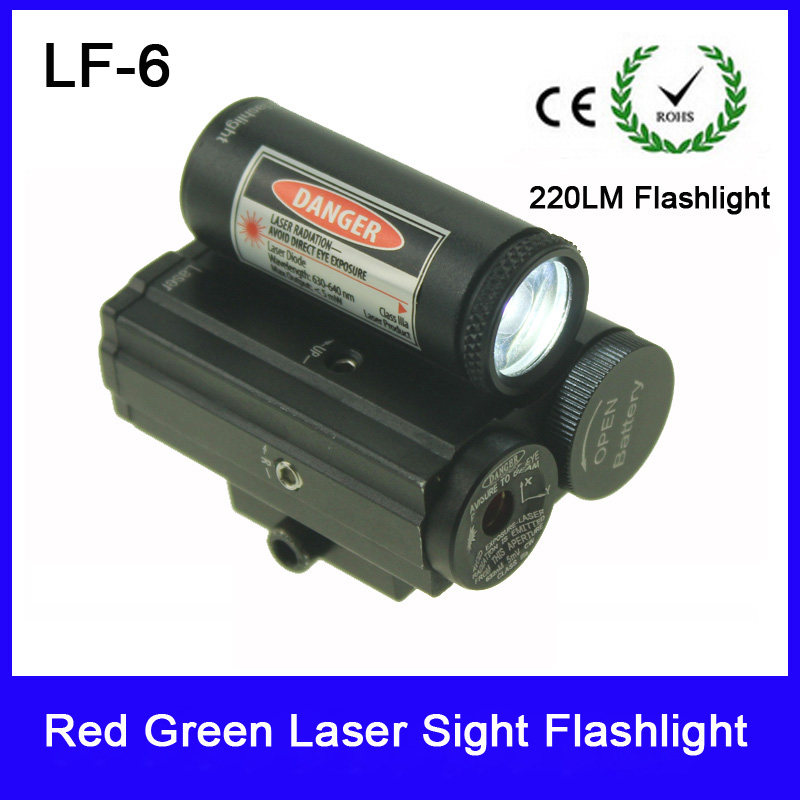 Pistol Green Laser Hunting Sight Scope Tactical 220LM LED Flashlight Switch Button For Rifle Pistol Gun Airsoft Shot #LF-6