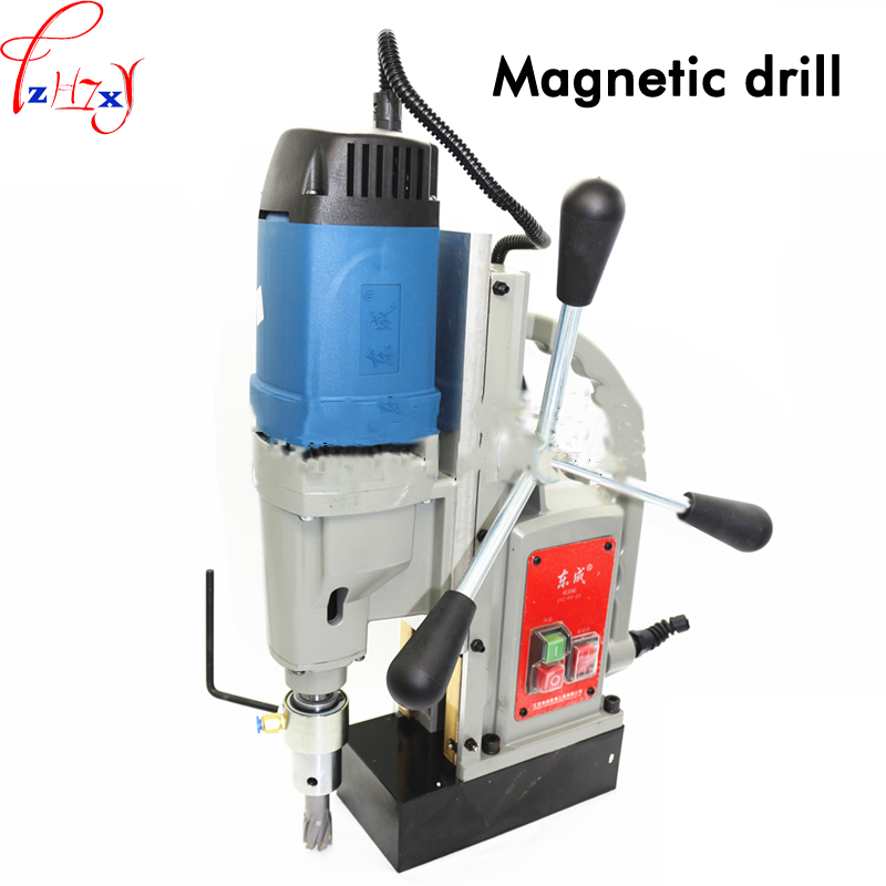 Magnetic block drilling J1C FF 23 desktop drill hole electric magnetic drill can be used for drill bit 220V 1pc