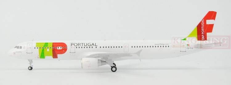 Offer: Wings XX2456 Special JC Portugal Airlines CS-TJG 1:200 A321 commercial jetliners plane model hobby spike wings xx4502 jc turkey airlines b777 300er san francisco 1 400 commercial jetliners plane model hobby