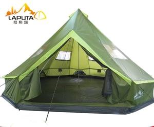 Image 1 - LAPUTA Ultralarge 8 12 Person Waterproof Camping Party Family Tent Namiot Carpas De Camping Party Tent