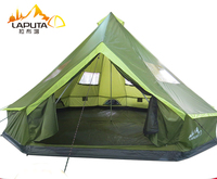 LAPUTA Ultralarge 8 12 Person Waterproof Camping Party Family Tent Namiot Carpas De Camping Party Tent