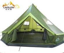פוטה Ultralarge 8 12 אדם עמיד למים קמפינג המפלגה משפחת אוהל Namiot כרפס דה קמפינג אוהל המפלגה
