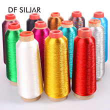 3250m Bullion Gold Silver Metallic Yarn For Crochet Embroidery Thread Knitting Yarn Jewelry Tassel DIY Chinese Knot Making Y1778(China)