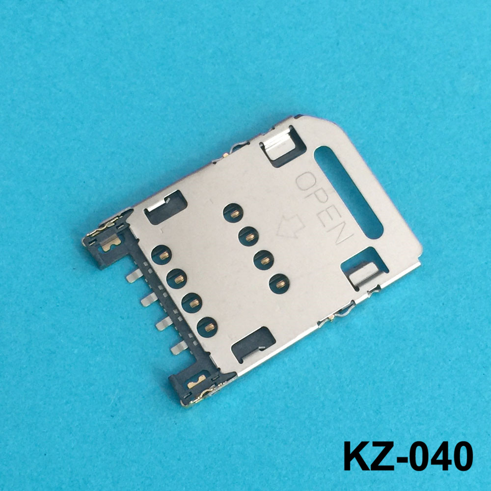 Sim Card Reader Module Slot Tray Holder Socket Repalcement Part For HTC Wildfire S G13 A510e High Quality