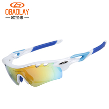 5 Lens Polarized Cycling Glasses Outdoor Sports Bicycle Goggles Bike Sunglasses TR90 Frame Cycling Eyewear Gafas Ciclismo