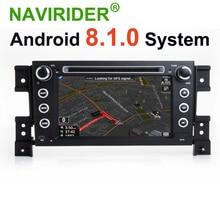 Android 8.1.0 HU Radio del coche para SUZUKI GRAND VITARA GPS navegación coche reproductor Multimedia unidades de coche reproductor de música
