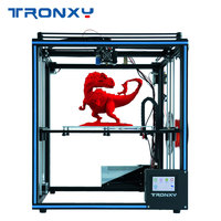 2019 Mais Novo Atualizado Tronxy X5SA 3D Tela de Toque Da Impressora Filamento de nivelamento Automático Sensor de Viveiro Tamanho 330*330 milímetros