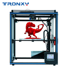 2019 Newest Upgraded Tronxy X5SA 3D Printer Touch Screen Auto leveling Filament Sensor Hotbed Size 330*330mm
