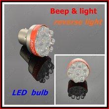 1 лот 50 шт./лот из светодиодов лампы с предупреждающий сигнал P21W BA15S 5 Вт обратные лампочка S25 фонари заднего хода DF2303 FFF бесплатная доставка