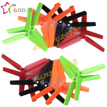 цена на 2016 New 24pcs / 12Pairs Enhanced Edition 5045 3D 3-blade glaze Props Propellers For FPV Mini QAV250 ZMR 250 270 280 Quadcopter