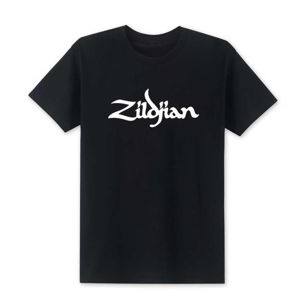 2019 Fashion Summer New Zildjian Men   T     Shirts   Printed   T  -  shirt   Men Short Sleeve Cotton   T     Shirts   Top Tees High Quality Size XS-XXL