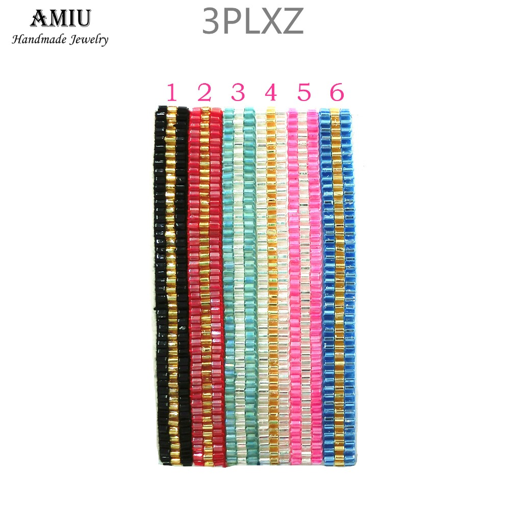 AMIU Handmade Friendship Bracelet Hippy Seed Beaded Friendship Bracelet Rope String Friendship Bracelets For Women Men Bracelet