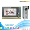 XSL-V80-M3 1V1 XINSILU Manufacturer 2016 7inch Home Security System Smart Video Door Phone/Waterproof Wired Intercom System