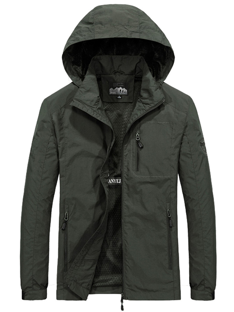New Tactical Jackets M~6XL Spring Autumn Mens Casual Military Hoodie Jacket Men Waterproof Clothes Men's Windbreaker Coat Male