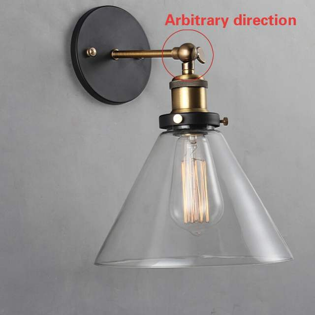 Loft Retro Edison Wall Lamp Applique Murale Vintage House Lighting Fixtures  Luminaire Mural Lamparas De Pared Dormitorios 03