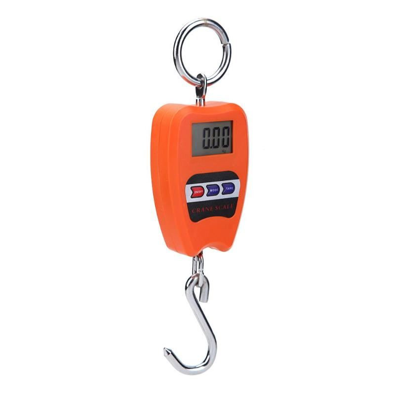 200kg/50g Mini Digital Scale Luggage Travel Weighting Steelyard Electronic Luggage Hanging Scale Portable Handled Weighing Tool
