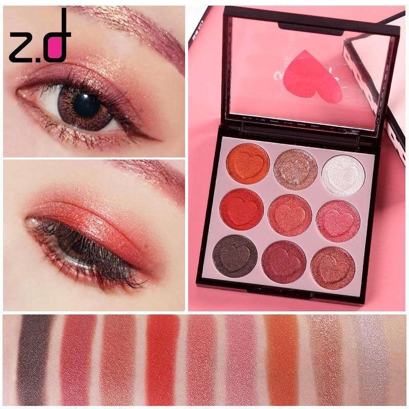 Imagic 5 Colors Nude Diamond Shimmer Eyeshadow Makeup