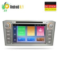 Оперативная память Android 8,1 автомобильный DVD стерео мультимедийная Главная панель для Toyota Avensis/T25 2003-2008 автоматическое радио GPS навигации аудио-видео