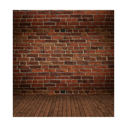 VinylBDS 5X7FT  Red Brick Wall Photo Backdrop
