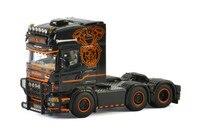 Изысканный сплава модель ВИС 1:50 Scania R5 6x2 линия седельный тягач транспортных средств литая игрушка модель Коллекция украшения